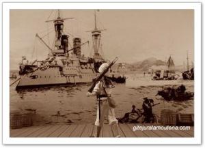 Flotte Allemande à Tsing-tao.