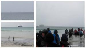 L'attente et nous sommes pas les seuls à vouloir quitter l'île Saunders !
