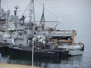 L'intrépide Marine d'Ushuaia.
