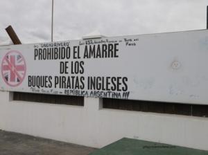 Port d'Ushuaia, conseils de bienvenues.