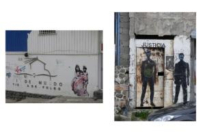 Ushuaia, art de la rue.