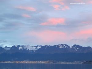 La baie d'Ushuaia.