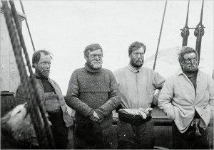 Shackleton et son équipage.