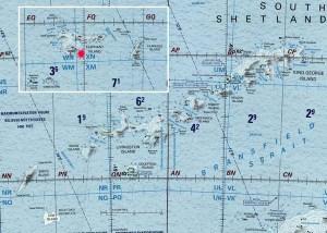 Ile Elephant, Shetland-Sud.
