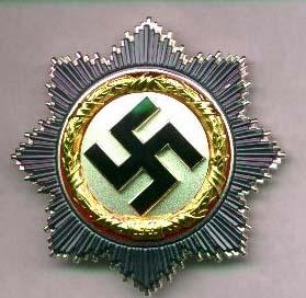 Croix d'argent Allemande.