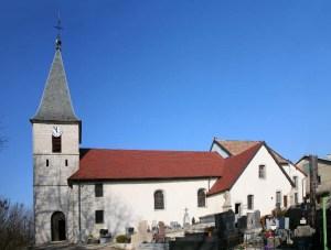 Eglise d'Aresches.