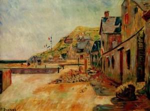 P.Signac, Port-en-Bessin, Le 14 Juillet.