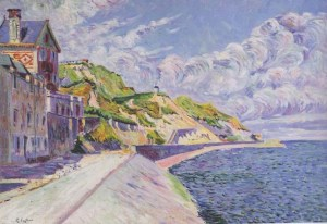 P.Signac, Port-en-Bessin, Le Catel, 1884.