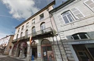 Salins-les-Bains, ex théâtre.