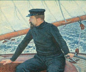 P.Signac par Théodore Van Rysselberghe, 1896.
