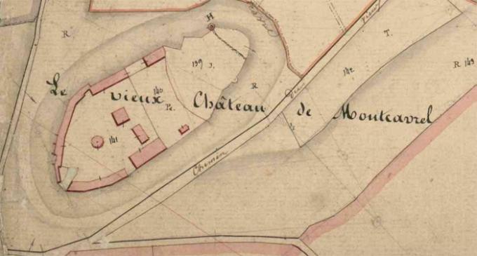 Chateau Montcavrel 1834 ADNPC 3P 021.10