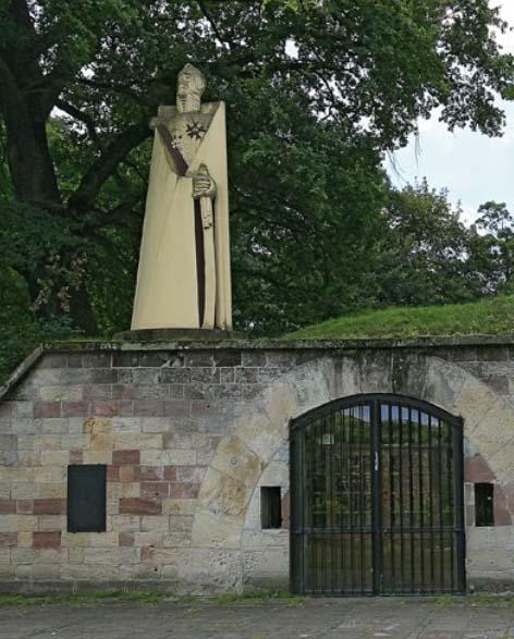 Statue de Ney à Saarlouis sur l'île Vauban.