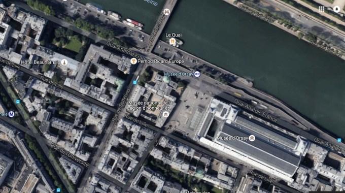 Paris rue de Lille