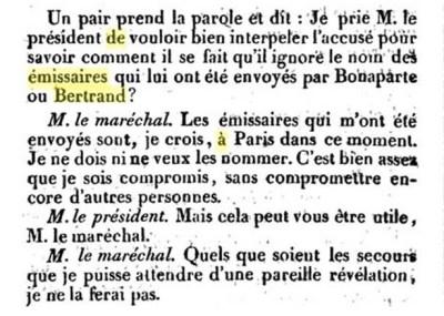 Chambre des Pairs 4 Décembre 1815