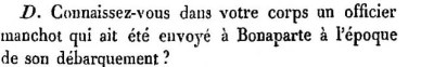 L.Friant témoin, 2ème question.