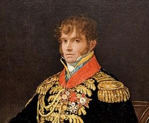 Le Géhéral Nicolas Philippe Guye peint par Goya en 1810.