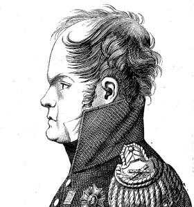Le Maréchal Ney en 1815.