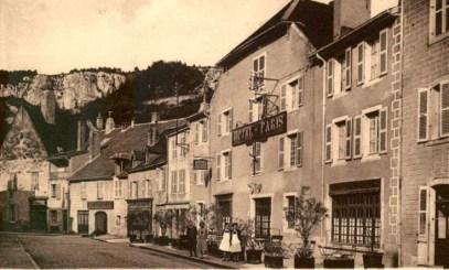 Poligny hotel de Paris rue Travot