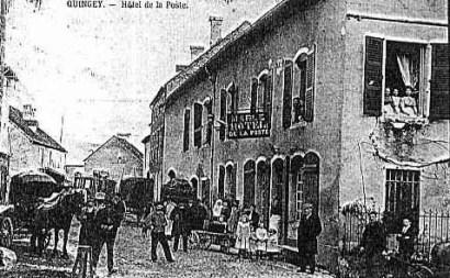 Quingey hotel de la Poste