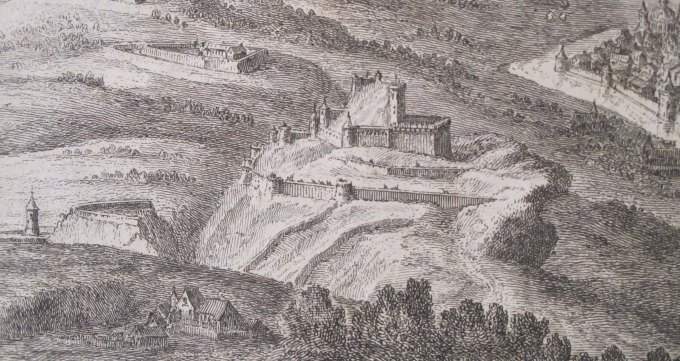 Château de Bracon, milieu du XVII.