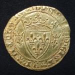 Ecu d'or à la couronne de Charles VII-1300 euros.