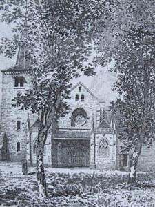 Eglise de St-anatoile, Salins-les-Bains, G Coindre.