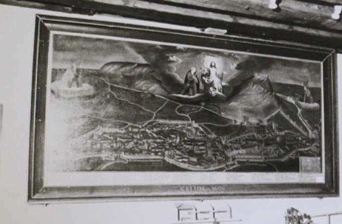 Photographie du tableau de Nicolas Richard au musée Max Claudet, ACS série R 1662.