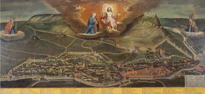 Tableau de Nicolas Richard, peint en Juin 1630.