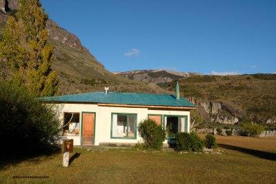 Argentine, Estancia El Condor, logement et bureau.