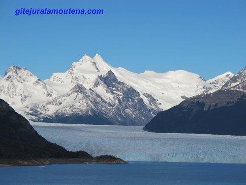 Argentine, glacier Perito Moreno par le Lac Argentino.