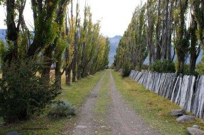 Argentine, l'entrée de l'Estancia El Condor.