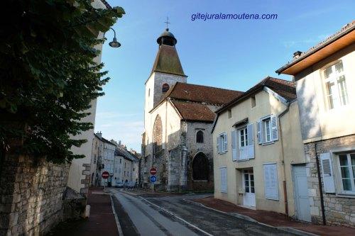 Collégiale Saint Maurice de Salins, vue Nord-est.